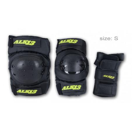 pack de protection ALK 13 genoux, coudes, poignets