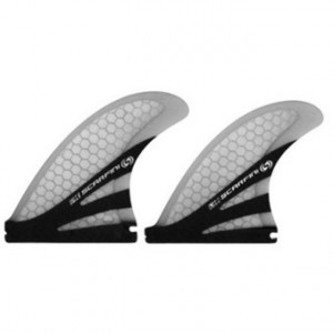 Set de 4 ailerons Scarfinic quad medium