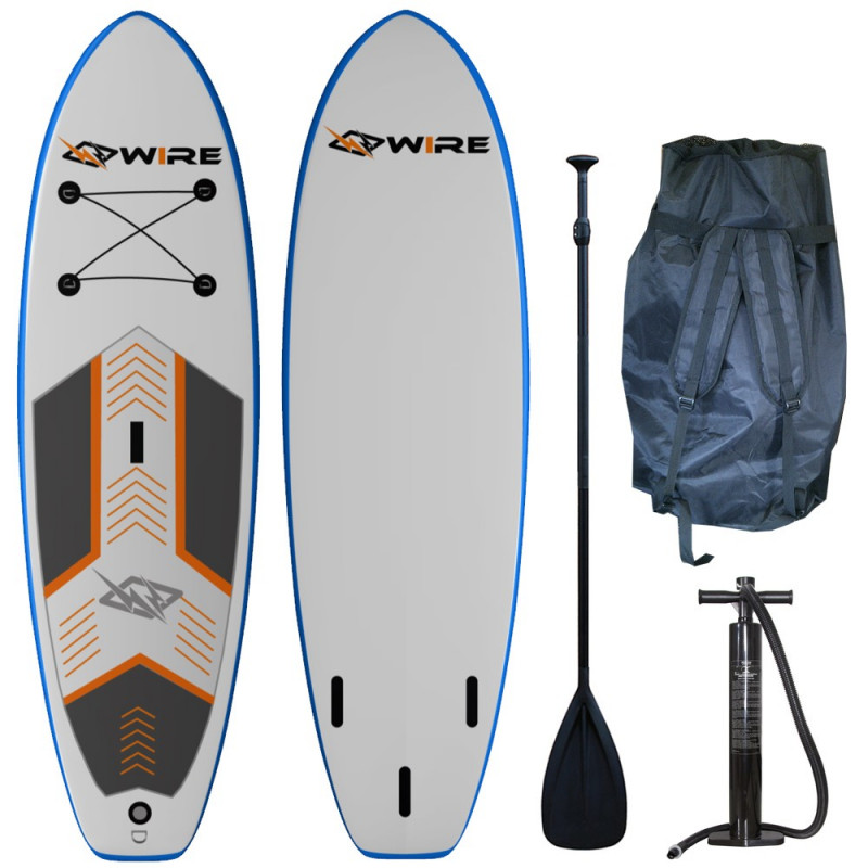 "Stand Up Paddle SUP gonflable WIRE board 7'5"" kid"