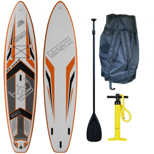 "Stand Up Paddle SUP gonflable WSK 12'6"" super thick 2016"