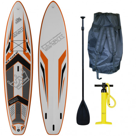 "Stand Up Paddle SUP gonflable WSK 12'6"" super thick"
