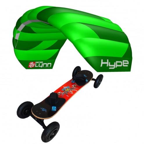 pack mountainboard edge + hype poignées