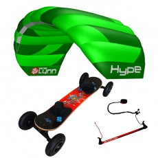 pack mountainboard edge + hype sur barre
