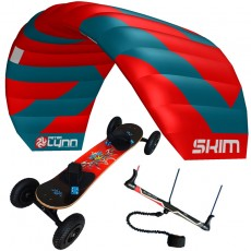 pack mountainboard edge + aile de traction skim sur barre