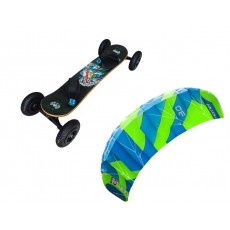 Pack Mountainboard Fiber + Peter Lynn Hornet