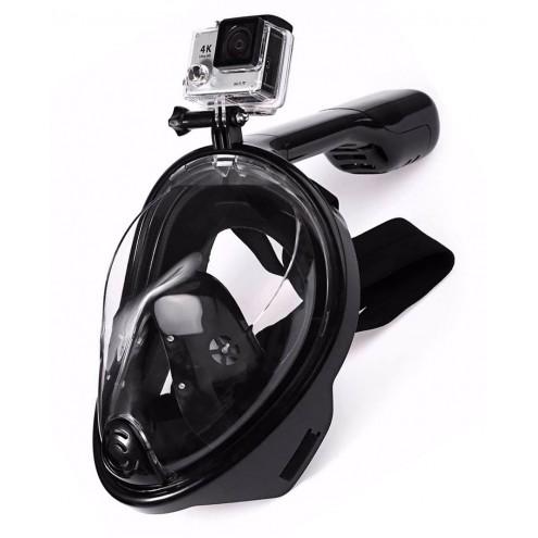 masque de plongée en surface freebreath avec support de caméra de sport