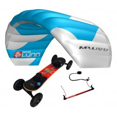 pack mountainboard Edge + aile à caissons Impulse TR sur barre