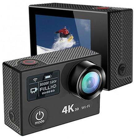 Caméra d'action 4K Krystal 4.0 avec carte mémoire 32GB