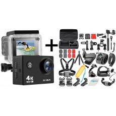 pack caméra d'action Krystal 3.0 avec kit d'accessoires N1