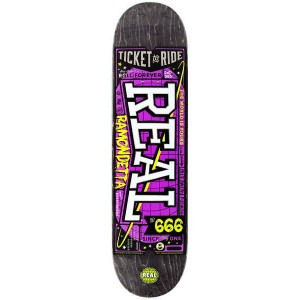 Skateboard Real Ramondetta ticket to ride 8.06