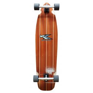 """Long Skate complet Korvenn Classic Wood serie 40"""""""