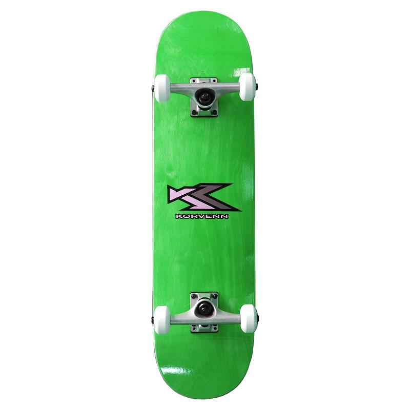Skate complet Korvenn wood green 8'