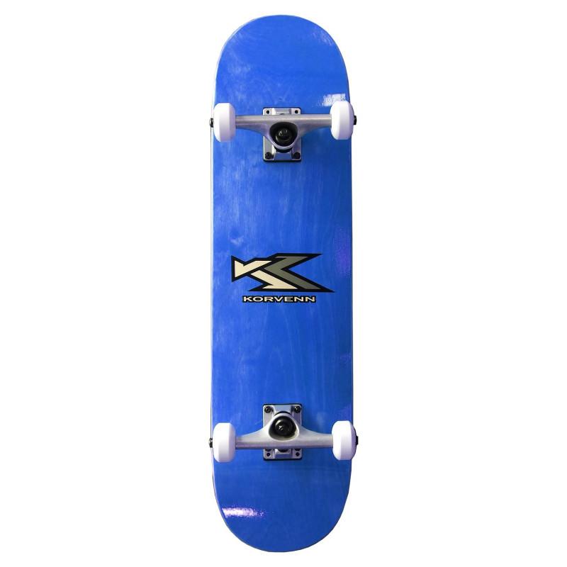 Skate complet Korvenn wood blue 7,75'