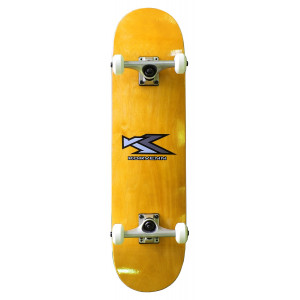 Skate complet Korvenn wood yellow 7,75""