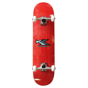 Skate complet Korvenn wood red 8'