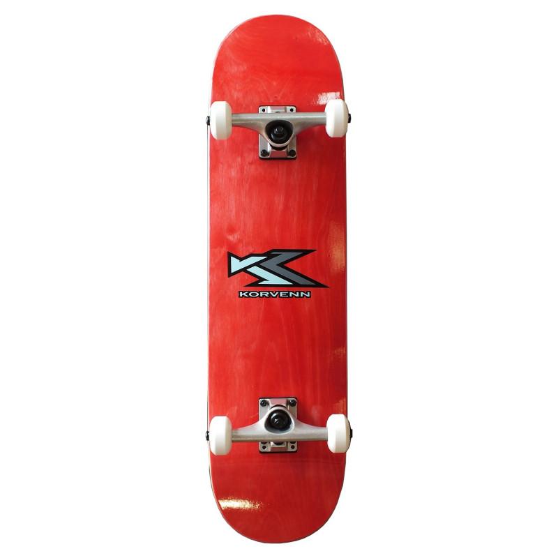 Skate complet Korvenn wood red 8'