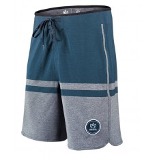 Boardshort Manera Haapiti Slate Black - Grey Heather