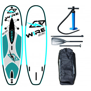 "Stand Up Paddle SUP gonflable WIRE board 9'6"" light"