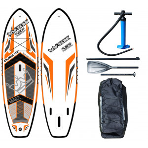 "Paddle gonflable WSK 10'6"" Cruiser Fusion double peau"