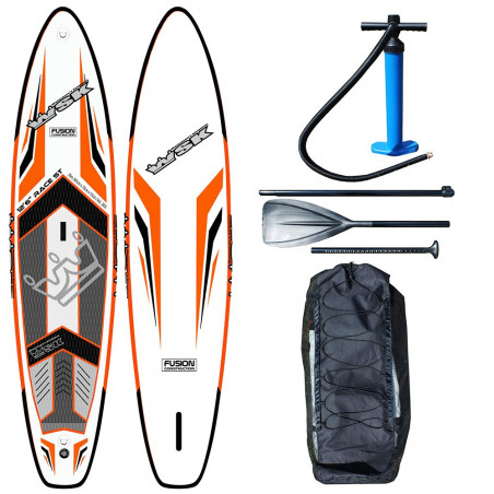 "Stand Up Paddle SUP gonflable WSK 12'6"" fusion double peau"
