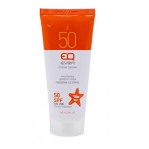 Crème Solaire Bio EQ Evoa Visage & corps SPF 50 100 ML