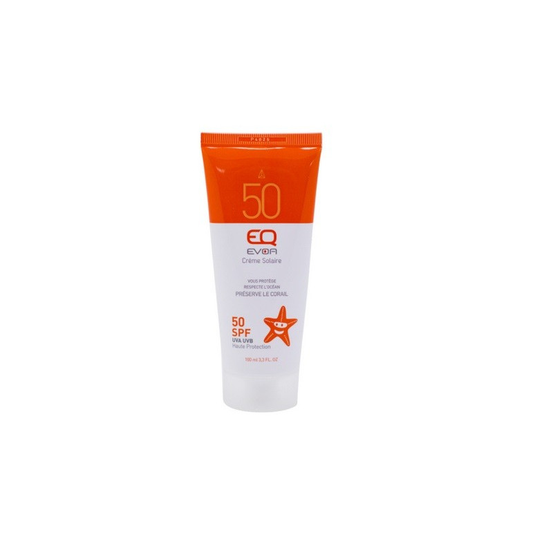 Crème Solaire Bio EQ Evoa Visage & corps SPF 30 100 ML