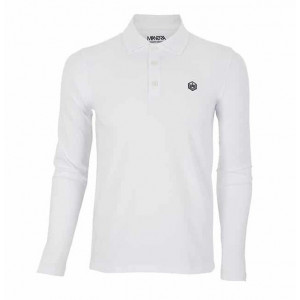 Polo Manera Le Morne manches longues White