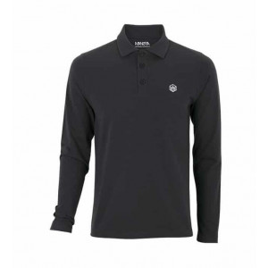Polo Manera Le Morne manches longues Anthracite