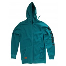 sweat à capuche zippé oakley crackle griffins nest fleece enamel blue