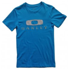 tee-shirt oakley Griffin Nest tee blue
