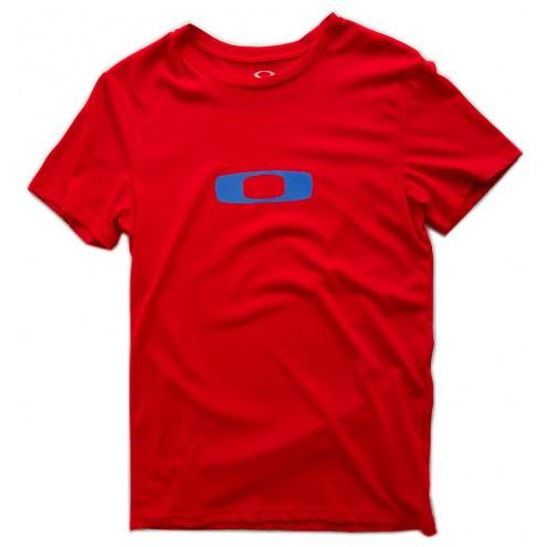 Tee-shirt oakley Ellipse me tee rouge
