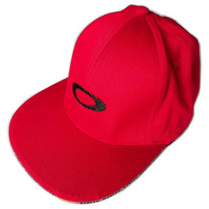 Casquette Oakley Paneled Static Cap rouge