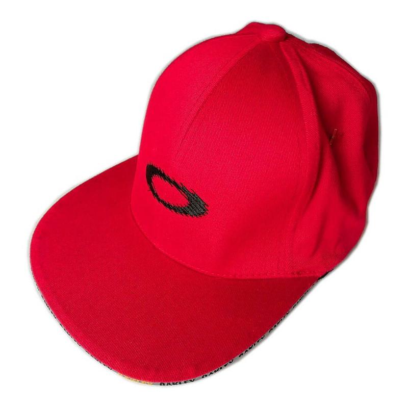 Casquette Oakley Paneled Static Cap rouge