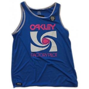 Débardeur oakley Alley Oop Tank Bleu
