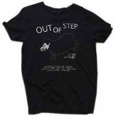 Tee-shirt lost out of step