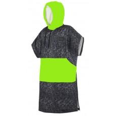 Poncho Mystic Allover 2019 Black Lime