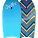 Bodyboard Alder Delta Deluxe Zigzag bleu