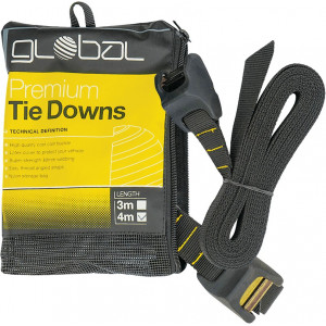 Sangle de toit Global Premium Tie Downs 4 m