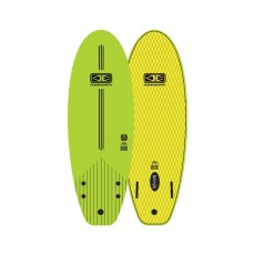 "Surf en mousse Ocean and earth the bug 4'10"" vert occasion (DV BURBAN)"