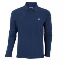 Polo Manera Le Morne manches longues Ocean Blue