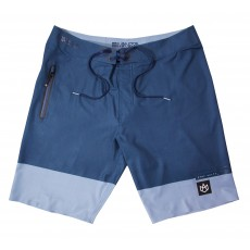 Boardshort Manera Squareflex Slate Black Alloy Blue