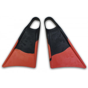 Palmes bodyboard Alder Rouge et Noir