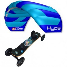 Pack mountainboard Fiber + Hype