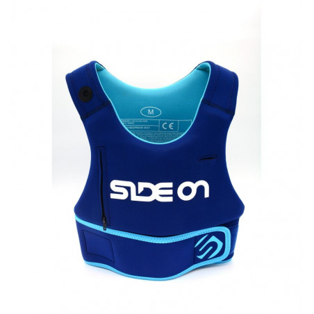 Gilet néoprène Side On vest Blue