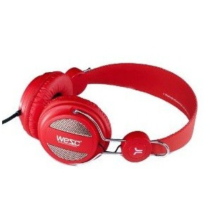 head phone WESC OBOE rouge
