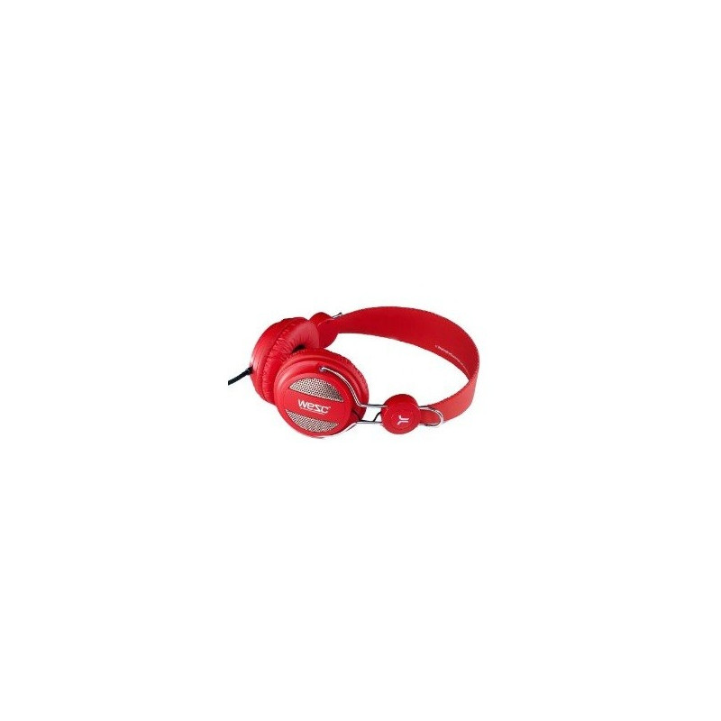 WESC OBOE white pink headphones