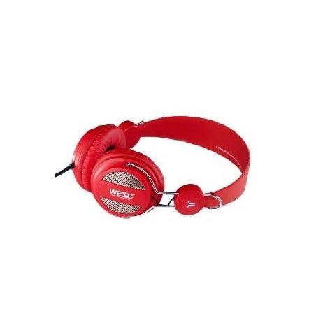 head phone WESC OBOE rouge
