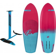 Pack foil F-one Mirage + Foilboard bamboo