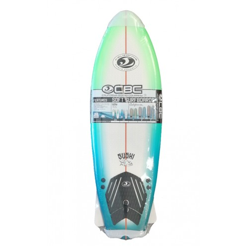 """Surf  en mousse Soft Board cbc Fish 5'8"""" Sushi"""