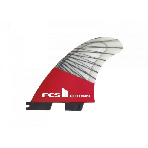 Ailerons FCS II Accelerator PC Carbon Tri Set